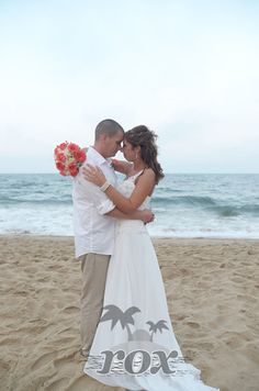 First Dance On The Beach At Wedding In Ocean City MD