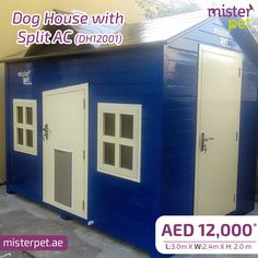 Dog House With Split AC Dubai !