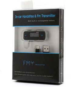 In-car Handsfree & FM-Transmitter