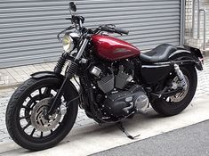 Victory Motorcycles, Cars And Motorcycles, Custom Harleys, Custom Bikes, Sportster Cafe Racer, Harley Davidson Sportster, Classic Bikes, Bobbers, Ford Mustang