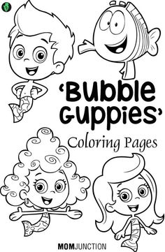 Coloring pages based on cartoons are very popular with younger kids. Check 10 free printable Bubble Guppies coloring pages to improve their artistic skills.