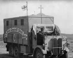 AEC Marshal 644 Army Mobile Church in North Africa 1943
