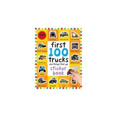 First 100 Stickers Trucks and Things That Go : Sticker Book (Paperback) (Roger Priddy)