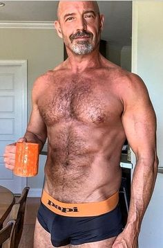 Mature Men, Fine Men, Hairy Men, Attractive Men, Facial Hair, Male Body, Sexy Men, Hot Guys, Dads