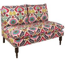 """Camille 49"""" Settee"""