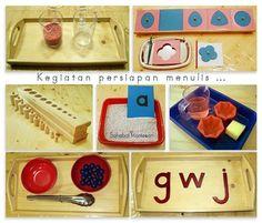 Sahabat Montessori Sarana Anak Hebat Ice Cube Trays, Montessori