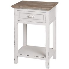 Vermont Rustic Shabby Chic Bedside Table | Free Delivery