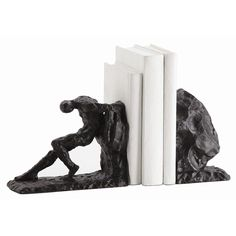 Jacque Bookends, Set of 2