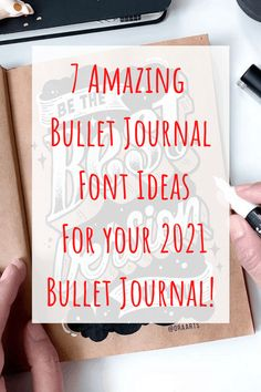 7 Amazing Bullet Journal Font Ideas - Looking for some great inspiration for your Bullet Journal? Try these 7 gorgeous Bullet Journal font ideas in your 2021 Bullet Journal! Click to read more. Bullet Journal Gifts, January Bullet Journal, Bullet Journal Font, Journal Fonts, Bullet Journal Hacks, Bullet Journal Printables, Bullet Journal Themes, Bullet Journal Spread, Bullet Journals