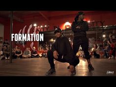 "We can't stop watching this ***flawless choreography to Beyoncé's ""Formation"""