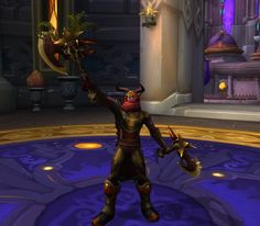 Red and gold leather xmog. Nice desert-y feel to the look and original when it comes to DHs. Hidden shoulders