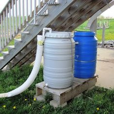 How to Build a Rain Barrel, Plus Care and Maintenance @ Common Sense Homesteading. Includes the instruction to use a food-grade plastic barrel. Water Storage, Food Storage, Just In Case, Just For You, Water From Air, Water Barrel, Water Collection, Rainwater Harvesting, Homestead Survival