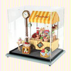Dollhouse Miniature Fruitier Store Clock 돌하우스 미니어처 플루띠에 스토어 시계