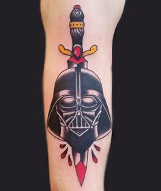 star wars darth vader tattoo-6