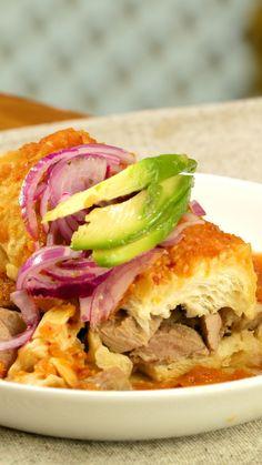 Tinga de pollo recipe videos torta ahogada recipe videosoriginalsyourrecipefood forumfinder Gallery