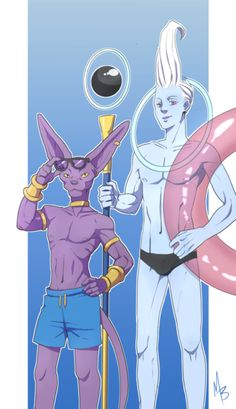 Whis and Lord Beerus