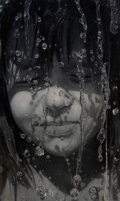 "Saatchi Online Artist: Sándor Hartung; Oil, 2012, Painting ""Sári"""