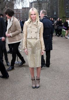 Celebs spotted at London Fashion Week