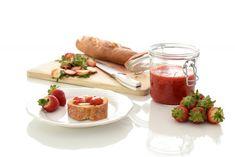 Una mermelada sin azúcar añadida es posible. Usa frutas de temporada, cocínalas, añade agar agar o gelatina y un edulcorante. Verás que sano.