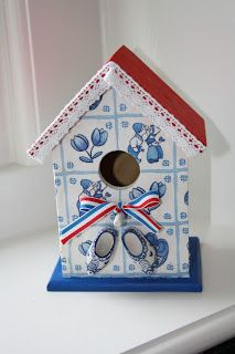 Vogelhuisje #birdhouse #bird, servetten?