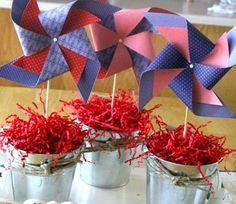 Centro+De+Mesa+Flores | Centros de mesa infantiles originales; me encanta esta mezcla de ...