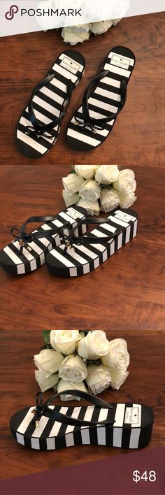 Kate Spade ♠️ sandal size 7 brand new! New Kate Spade ♠️ Size 7 Platform sandal So cute!!!! kate spade Shoes Sandals