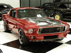 1967 Ford Mustang Fastback #mustangclassiccars