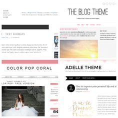 Five Of The Best Free Blog Templates