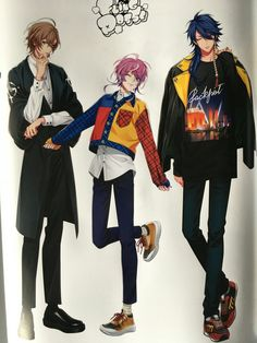 """so, these are Hypmic new outfit? Character Inspiration, Character Design, Naruto, Rap Battle, Colorful Drawings, Touken Ranbu, Jojo Bizarre, Jojo's Bizarre Adventure, Fire Emblem"
