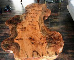 Burl Slab Table