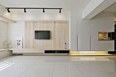 Neybers - An Interior Design Playground Living Room Wall Units, Living Room Modern, Living Room Interior, Home Living Room, Living Room Designs, Tv Wall Design, House Design, Tv Feature Wall, Muebles Living