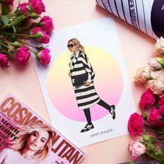 Fashion illustration by Hey,Julz! Instagram: @hey_julzzz иллюстрация, портрет, мода, рисунок