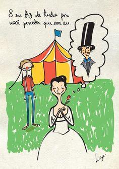 O Pierrot apaixonado chora pelo amor da Colombina... (8)