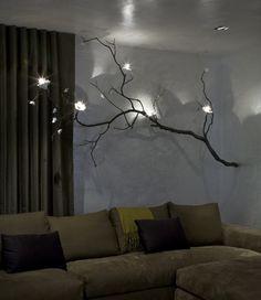 branch chandelier by david wiseman lighting from CRIBCANDY