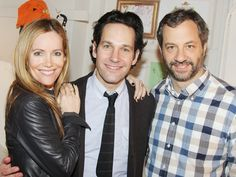 Paul Rudd welcomes This Is 40 collaborators Judd Apatow and Leslie Mann to GRACE Leslie Mann, Paul Rudd, My People, Funny People, Celebs, Female Celebrities, American Actors, Comedians, Movie Tv