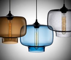Airy light fixtures.