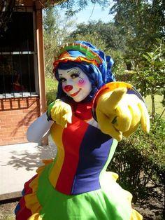 Cute Reading Clown by XxSpikesxX.deviantart.com on @deviantART