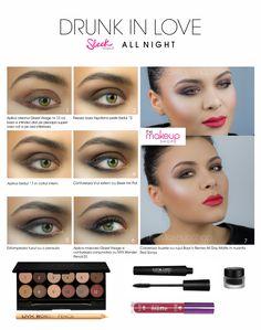 Paleta farduri Sleek All Night Long doar pe http://www.makeupshop.ro