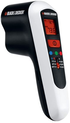 The Black & Decker thermal leak detector helps you increase the efficiency of your home's insulation by finding leaky areas that can lead to higher heating and cooling bills.