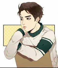 Mas Juna Body Tutorial, Webtoon Comics, Study Rooms, Handsome Anime Guys, Body Reference, Room Wallpaper, Manga, In This World, Pop Art