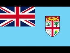 Bandera e Himno Nacional de Fiyi - Flag and National Anthem of Fiji - YouTube