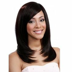 BOBBI BOSS Human Premium Blend Wig - MB200 ASIA by MIDWAY (#1 - Jet Black) by BOBBI BOSS. $59.99. Full Wig. Medium Length. Human Premium Blend Texture. Regular Wig. Wavy. BOBBI BOSS Human Pemium Blend Wig - MB100 NIA    Washing Instruction  1. Brush gently to untangle hair   2. Soak & wash with lukewarm water  3. Use mild shampoo  4. Use light conditioner & leave in for a few minutes to penetrate  5. Rinse lightly with warm water  6. Lay hair on a flat surface unt...