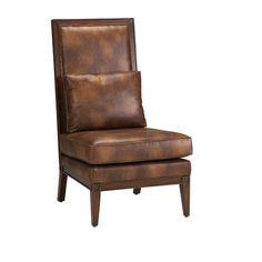 Found it at AllModern - Abbott Bonded Leather Parson Chair