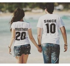 A personal favorite from my Etsy shop https://www.etsy.com/listing/247729413/newlywed-couples-t-shirts-anniversary