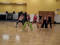 "Zumba Las Vegas Style by Michele (MCT) ""Drop it on me"" - YouTube"