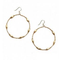 Mercantile - Keranga Gold Hoop Earrings