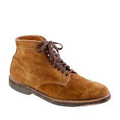 Alden® for J.Crew suede boots