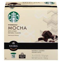 Starbucks Mocha K-Cup 16 ct