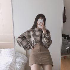 𝑝𝑖𝑛𝑡𝑒𝑟𝑒𝑠𝑡:  𝑦𝑎𝑠𝑒𝑜𝑘𝑦 Edgy Outfits, Korean Outfits, Classy Outfits, Pretty Outfits, Girl Outfits, Cute Outfits, New Outfits, Fashion Outfits, Korea Fashion