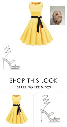"""""""Untitled #711"""" by megibson2005 on Polyvore featuring René Caovilla"""